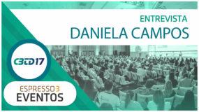 Cobertura CBTD 2017 – Daniela Campos – GLOBO