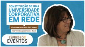 Série Suceg – Profª Patrícia – 3 | 3 – Constituição de uma Universidade Corporativa em Rede